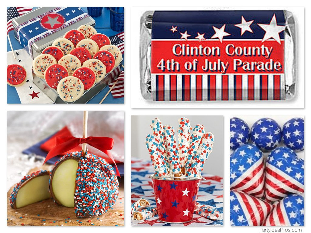 Patriotic July Fourth Treats