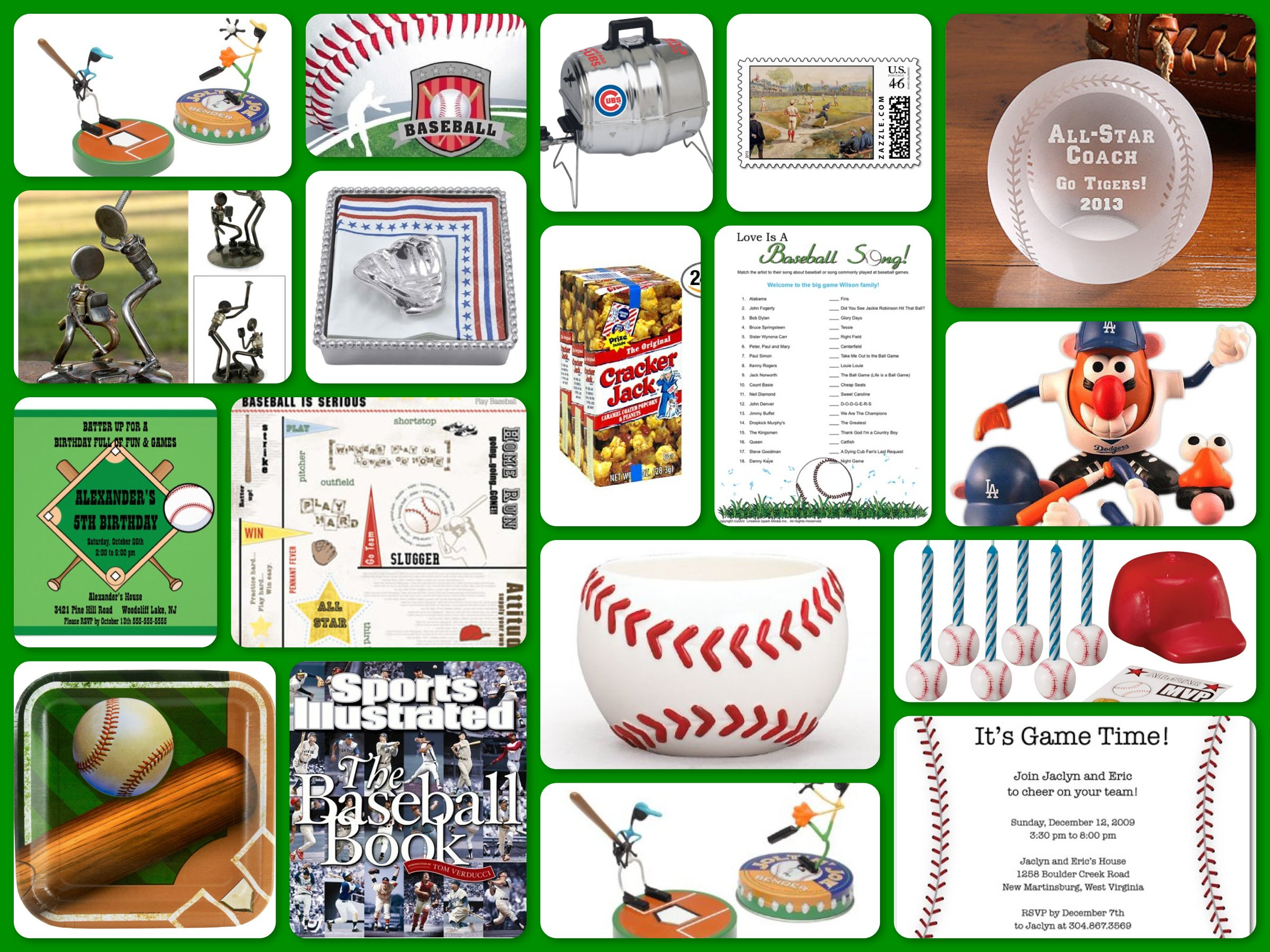 Baseball Theme Party Ideas