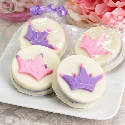 Princess CrownChocolate Covered Oreo Party Favor