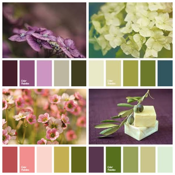 Interesting Fall Wedding Color Palettes