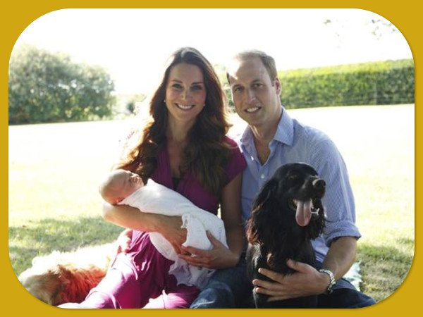 Royal Family Home Photos | Aden & Anais Baby Blanket