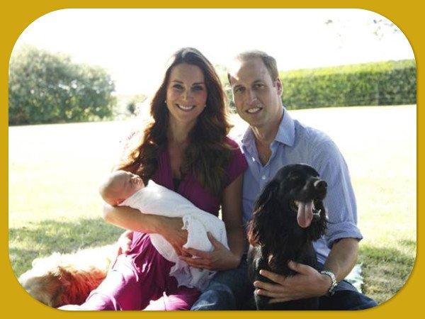 Royal Family Home Photos | Aden & Anais Baby Blanket
