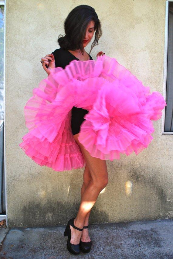 Vintage Halloween Petticoat Costumes