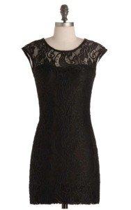 ModCloth Black dress