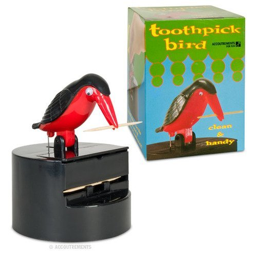 Bird Toothpick Dispenser