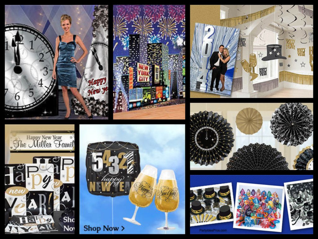 New Years Eve Decorations & Party Supplies | PartyIdeaPros.com