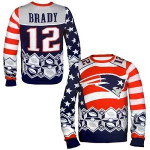 Tom Brady New England Patriots Ugly Sweater