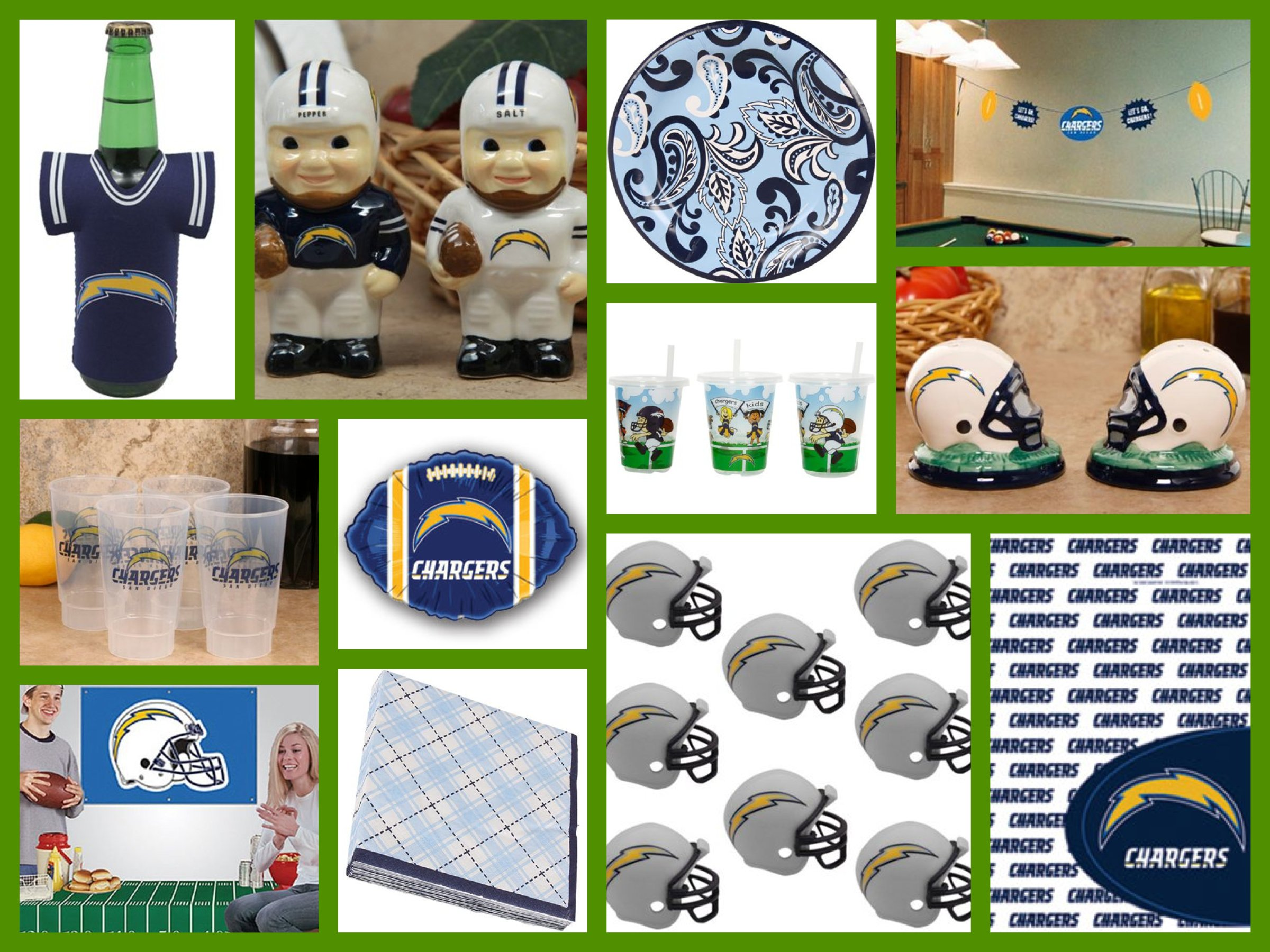 San Diego Chargers Football Party Supplies