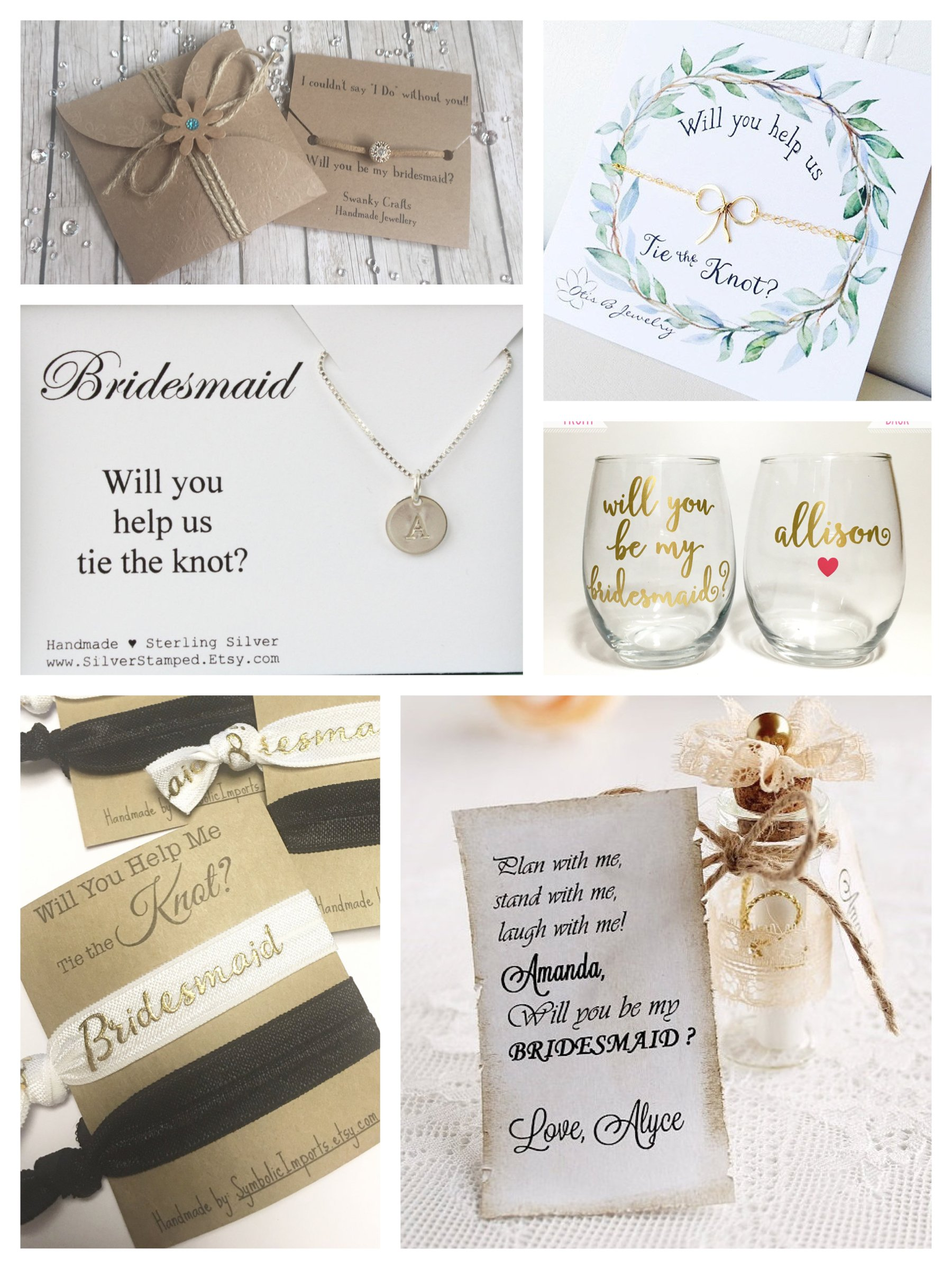 Will you be my maid of honor ideas