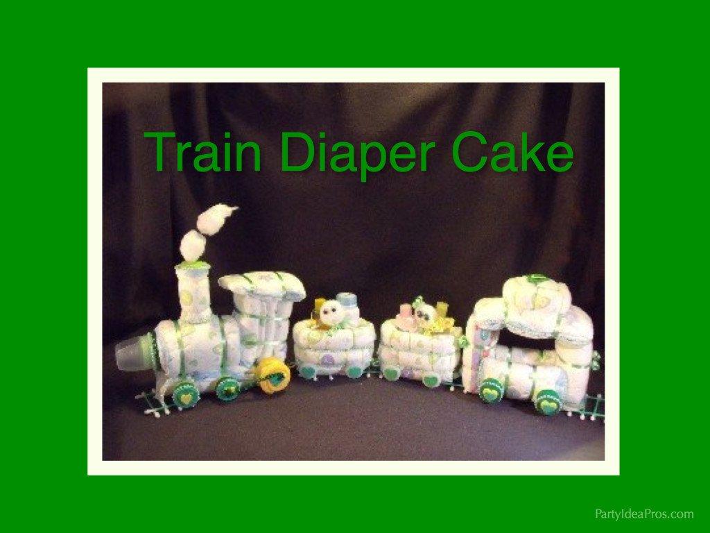 How To Make A Woodland Diaper Cake