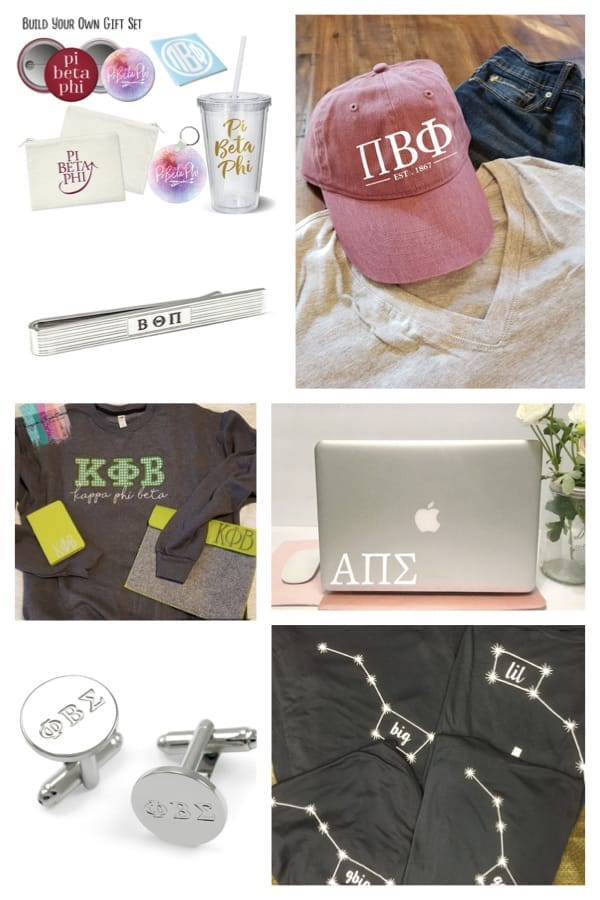 Fraternity and Sorority Gear