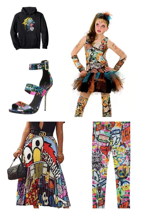 Graffiti Costumes and Accessories