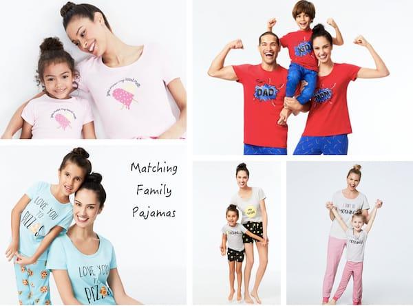 Macy's Family Matching Holiday Pajamas