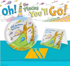 Oh the Places You Will Go Party Supplies