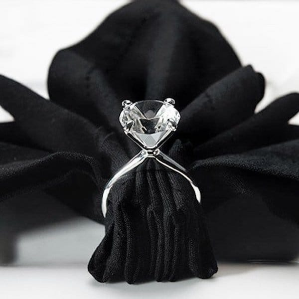 Diamond Ring Napkin Holders