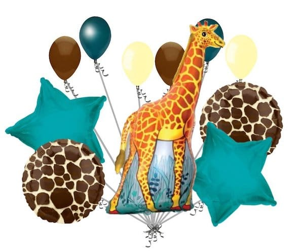 Giraffe Balloon Bouquet
