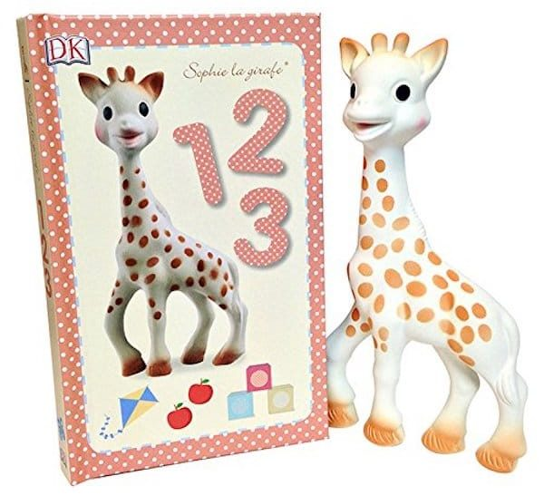 Sophie the Giraffe Teether and Book Set