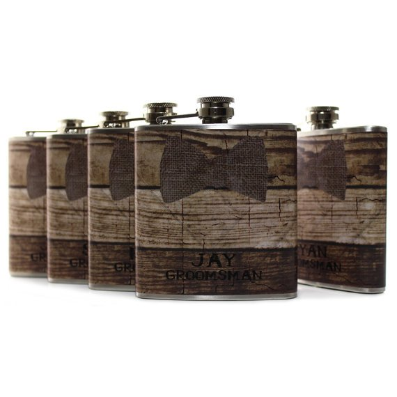 Groomsmen Gift Flasks