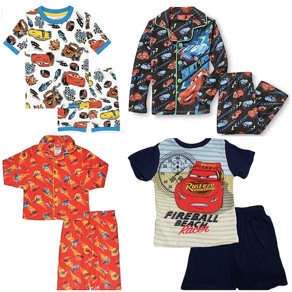 Cars Slumber Party Favor Pajamas