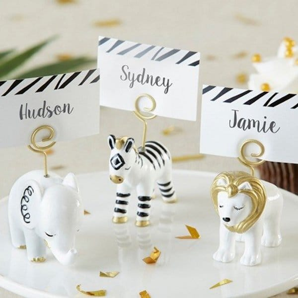 Safari Place Card Holders