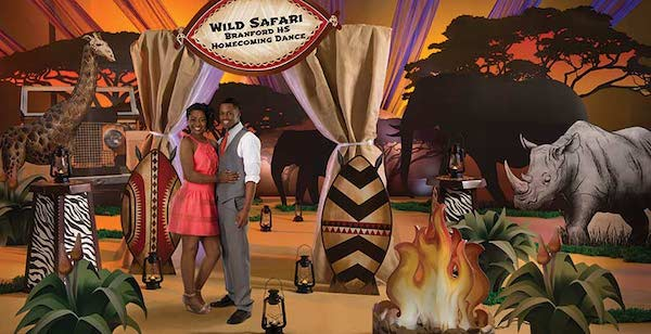Safari and Jungle Theme Party