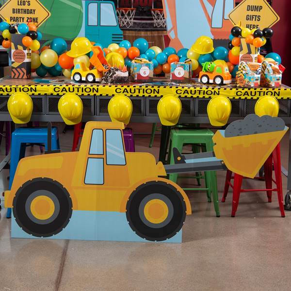 Construction Pals Party Theme Planning, Ideas & Supplies
