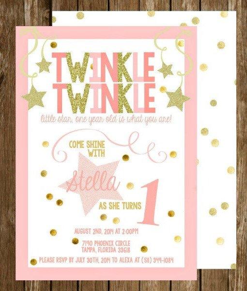 Twinkle Twinkle Little Star Party Theme Planning, Ideas ...