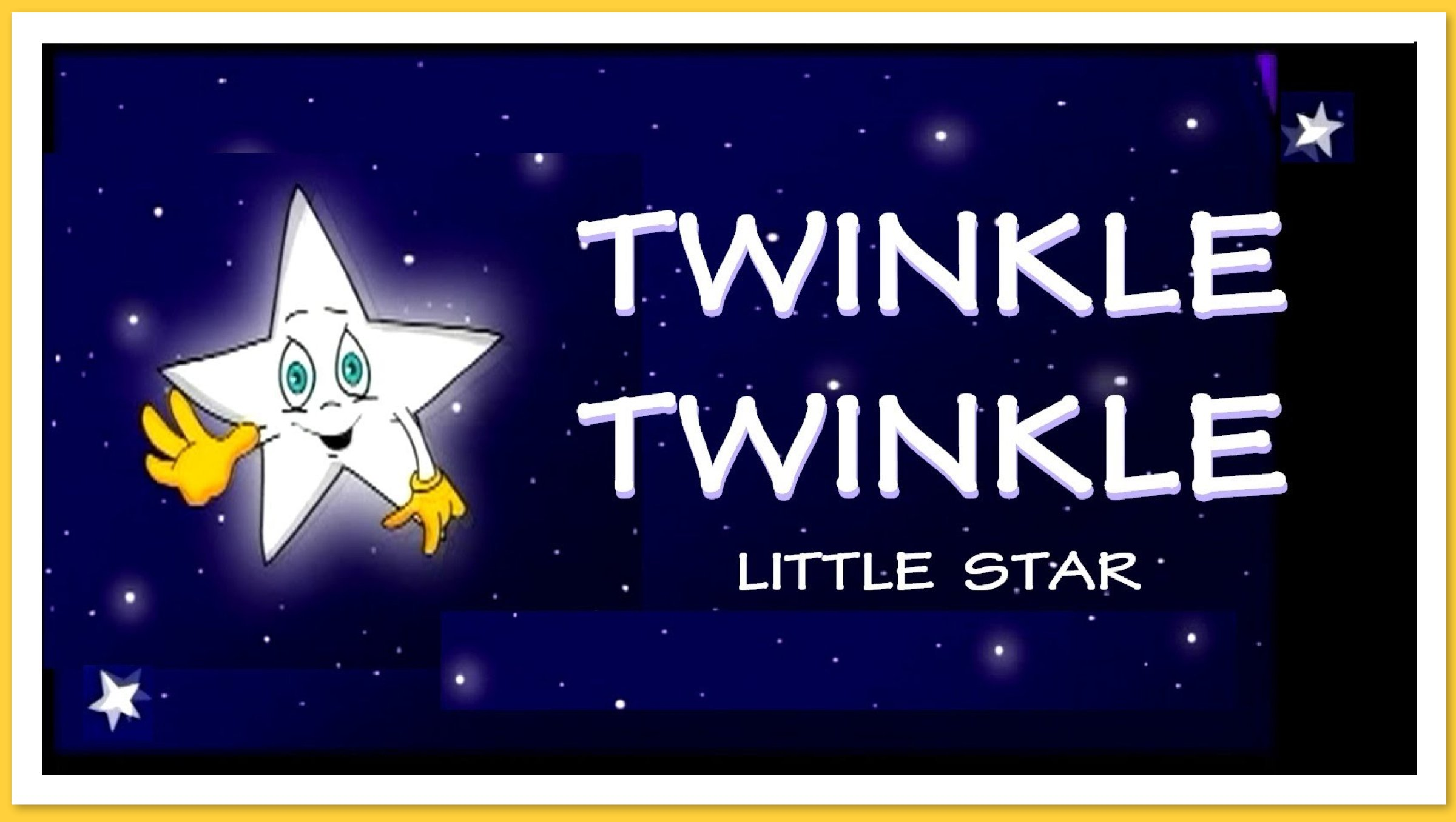 Twinkle little star party theme planning ideas