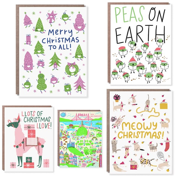 Unique Fun Christmas Cards