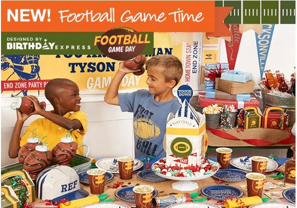 Boys Football Theme Party