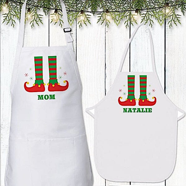 Personalized Family Christmas Aprons