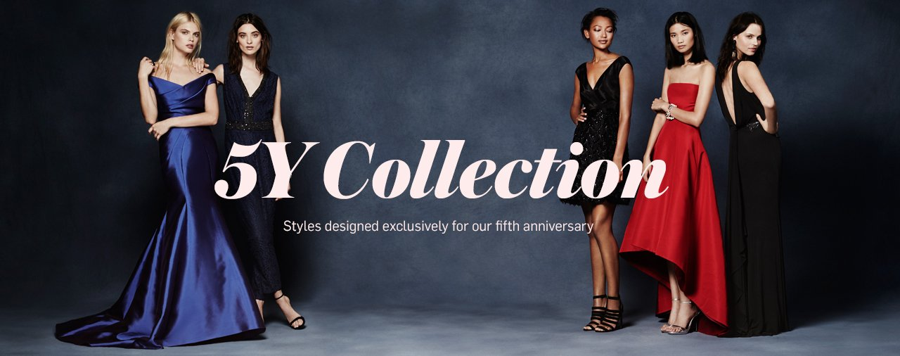 Rent the Runway Five Year Anniversary Celebration Collection
