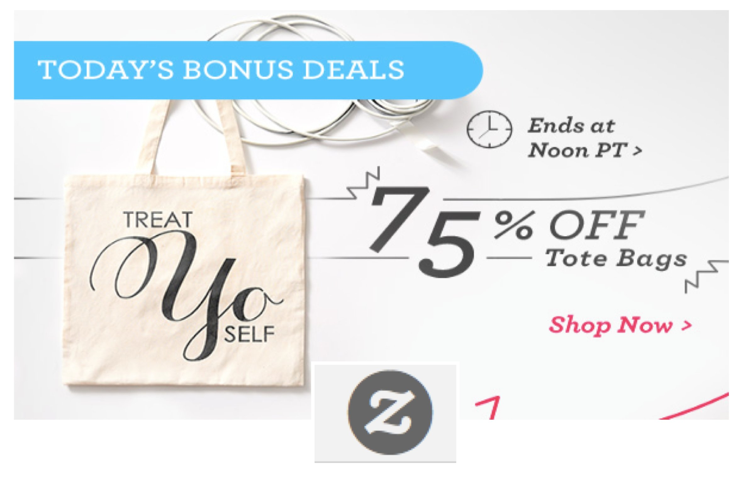 75 OFF Tote Bags