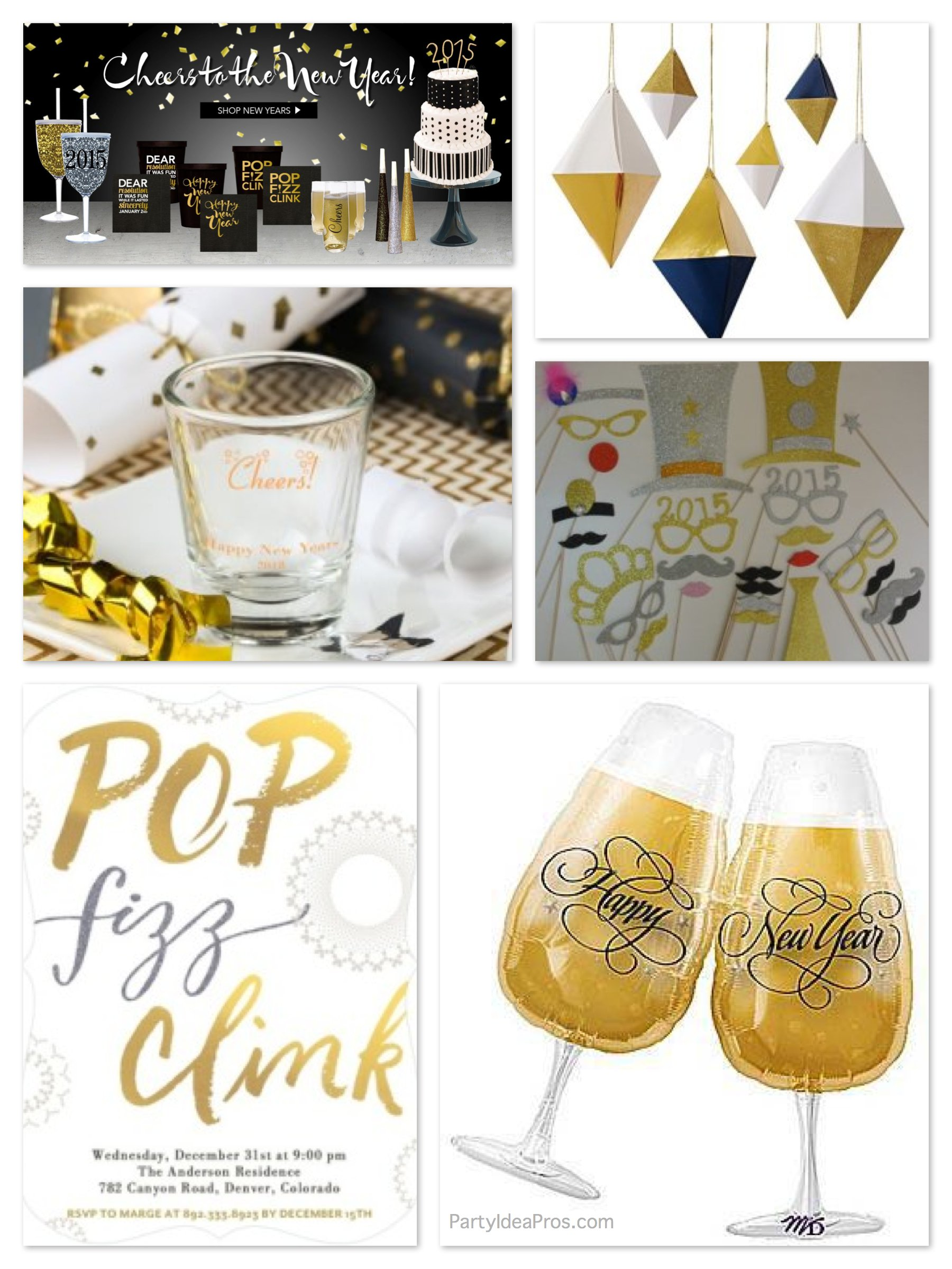 New Years Party Planning Ideas & Supplies