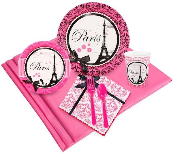 Paris Damask Party Pack