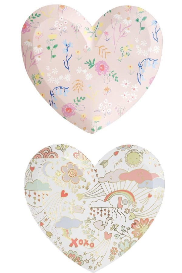 Heart Shaped Plates