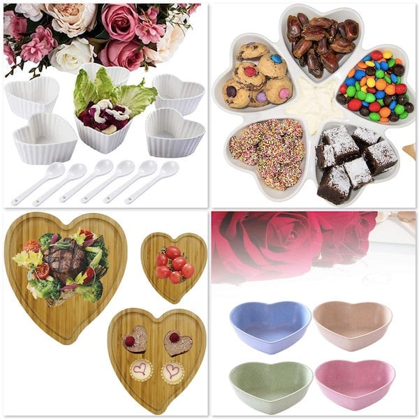 Heart Shaped Serving Trays
