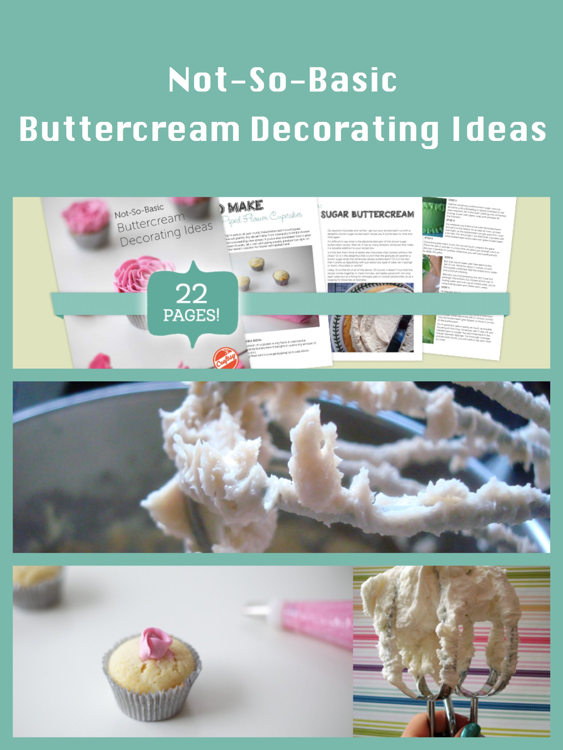 Not so basic buttercream decorating ideas