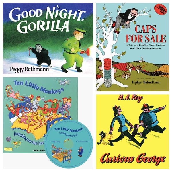 Best Children's Monkey Themed Books