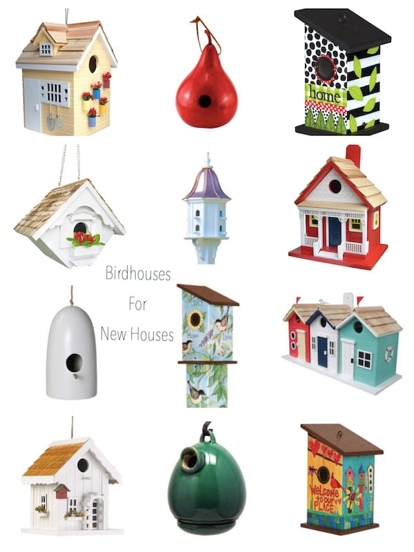 Birdhouses for New Houses