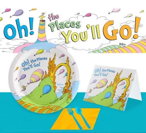 Dr Seuss Oh The Places You'll Go Birthday in a Box