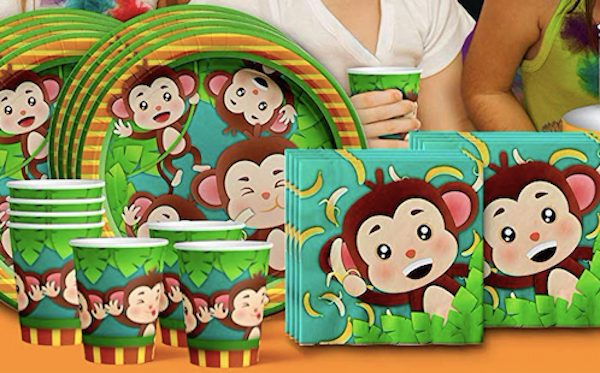 Monkey Birthday Party Supplies