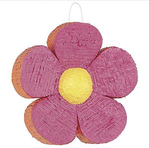 Pink Daisy Flower Pinata