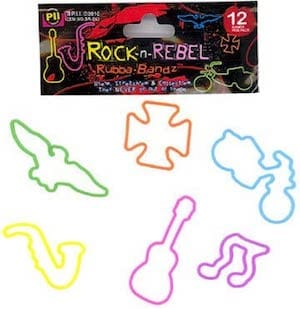 Rock and Rebel Silly Bandz