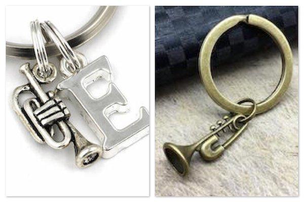 Trumpet Keychains