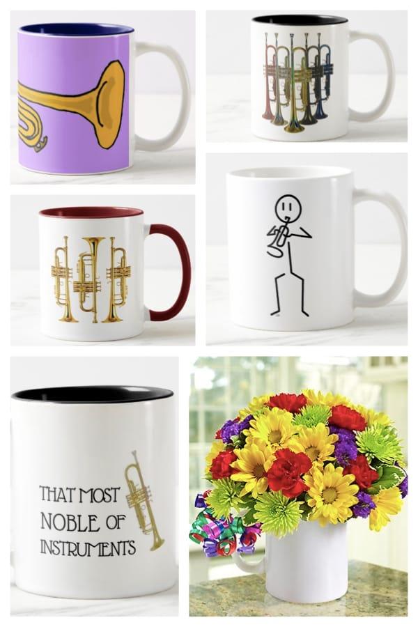 Trumpet Mugs