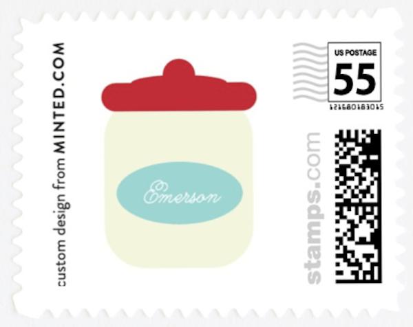 A Kitchen Bridal Shower Stamps