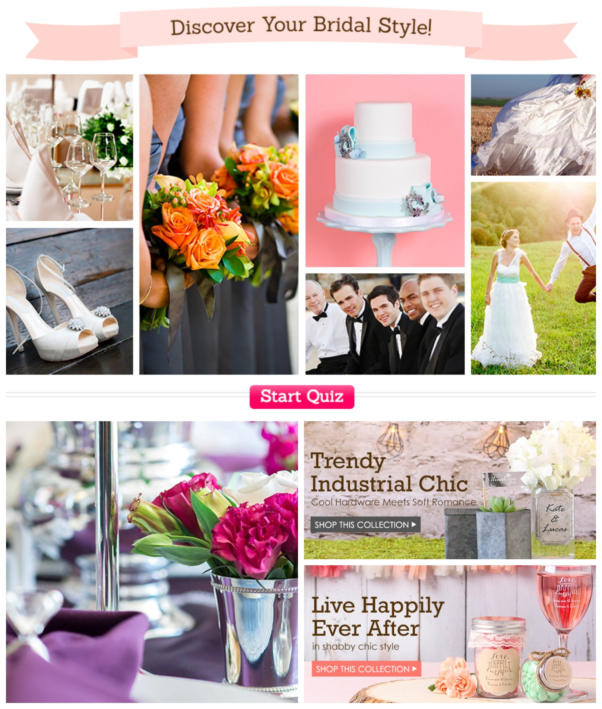 Discover Your Bridal Style Quiz