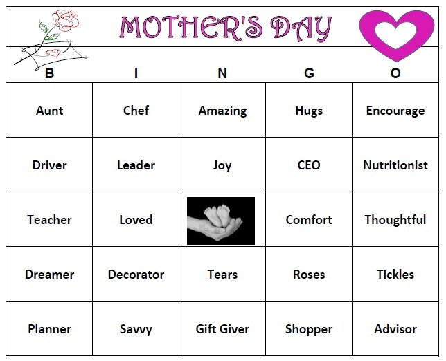 printable games for mother 39 s day mother 39 s day activities. Black Bedroom Furniture Sets. Home Design Ideas