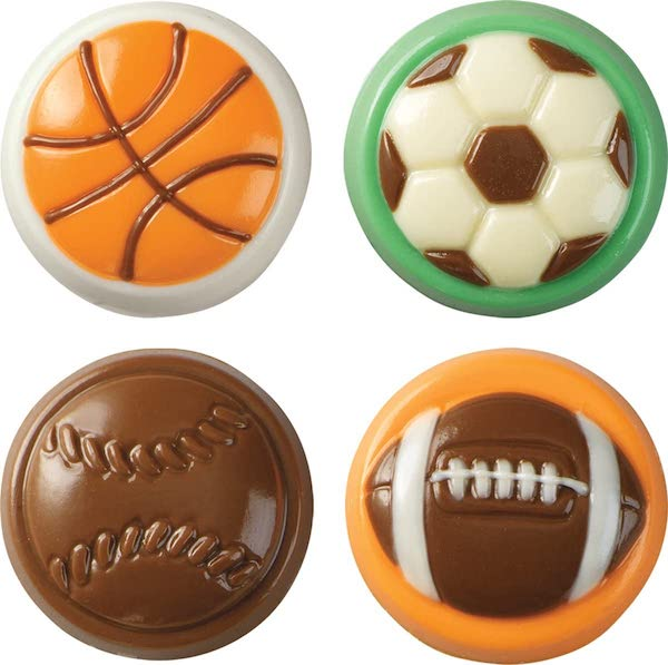 Sports Cookie & Candy Molds
